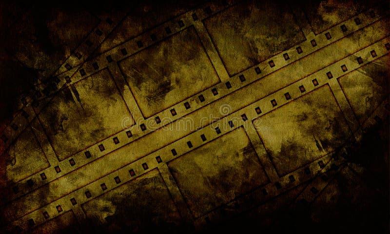 Film du grunge 35mm illustration de vecteur
