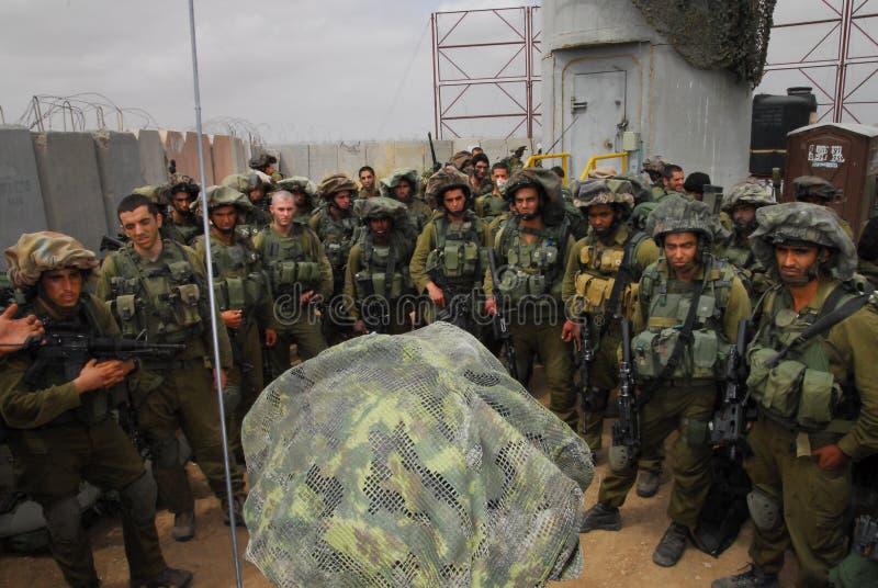 Film encreur - Corps d'infanterie de l'Israël photos stock