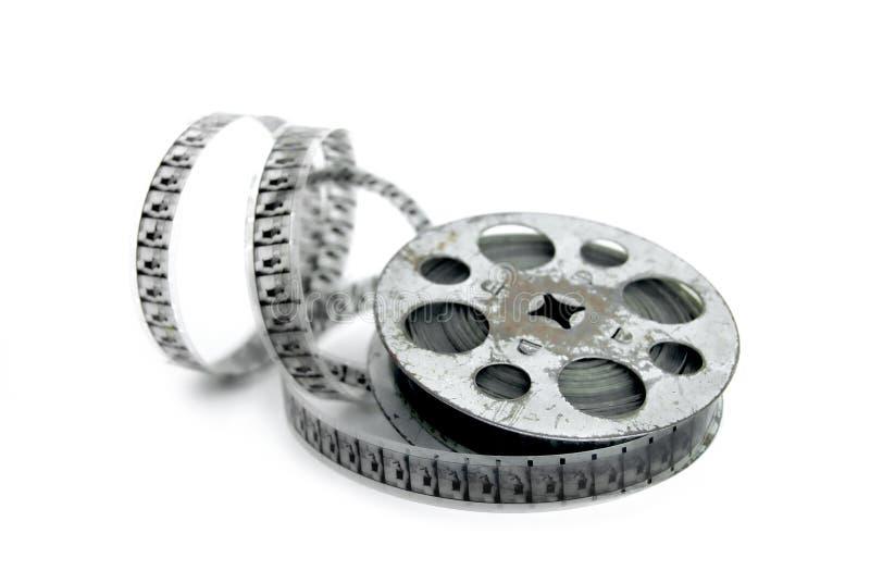 Film et bobine photographie stock