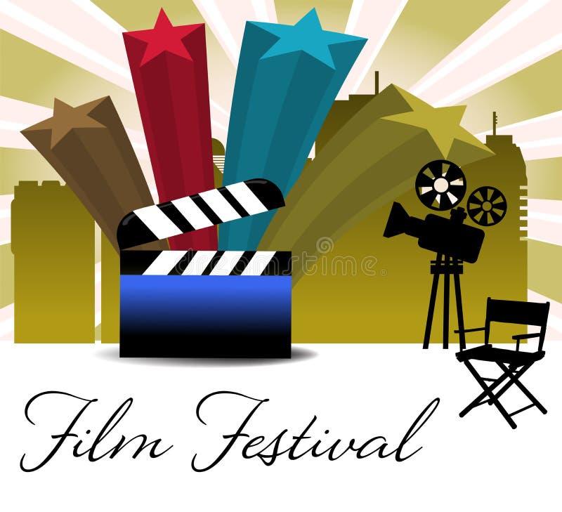 Film festival stock illustration