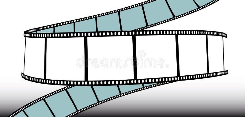Film/film de photo illustration de vecteur