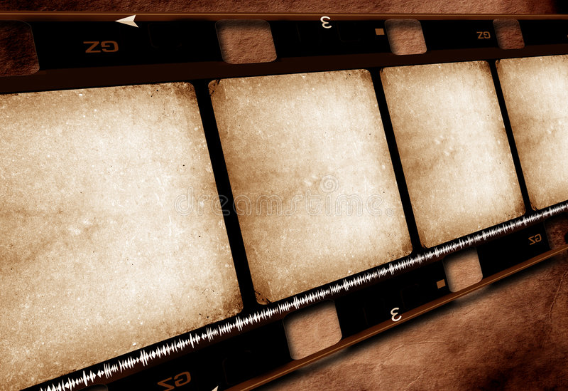 Film-Filmbandspule stockfoto