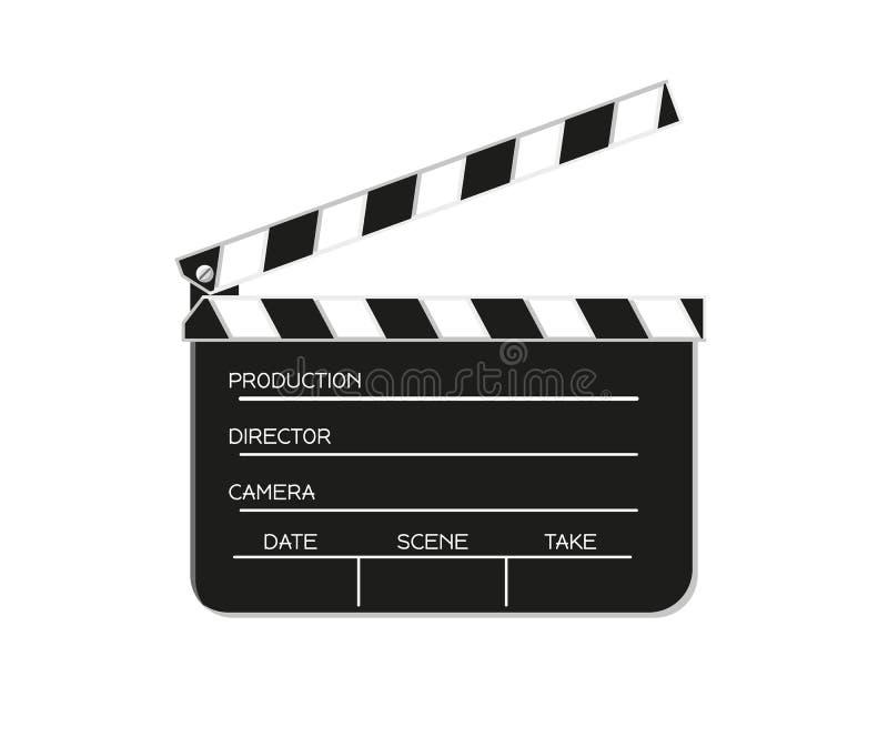 Film flap illustration de vecteur