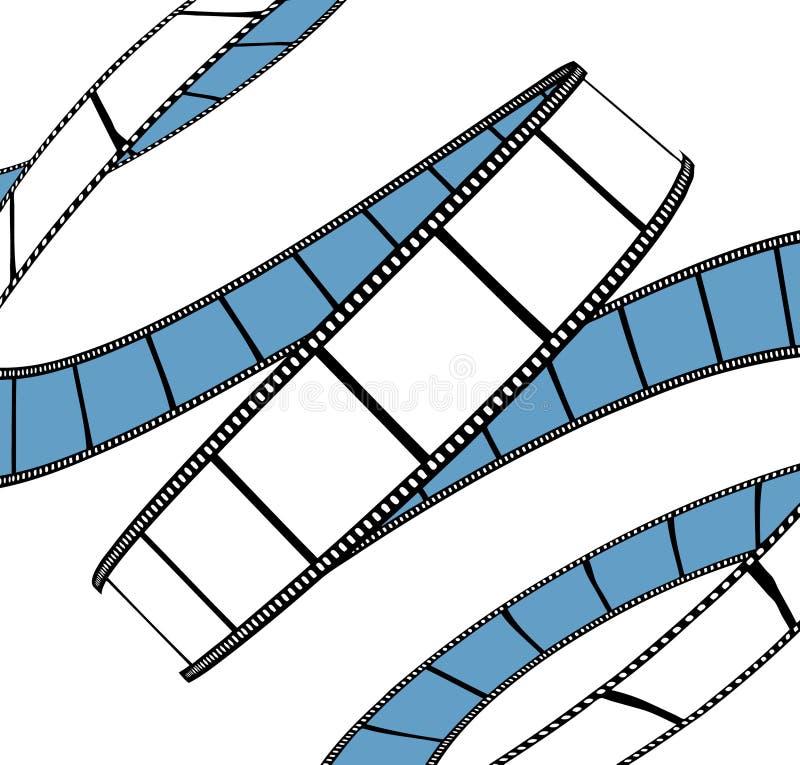 Film/Fotofilm vektor abbildung