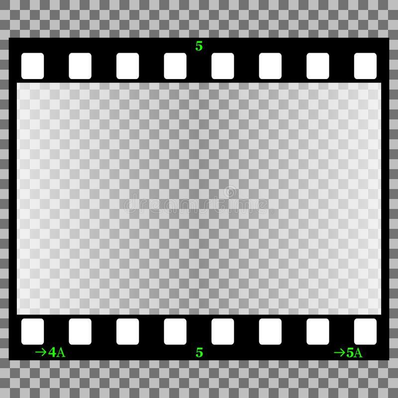 film fotograficzny ilustracja wektor