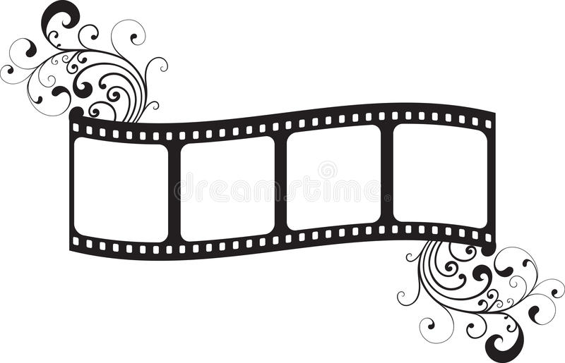 Film frame royalty free illustration