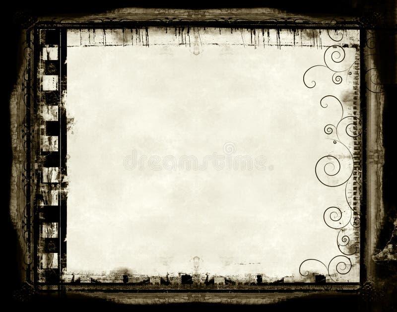 Download Film frame stock illustration. Image of frames, dirty - 2320341