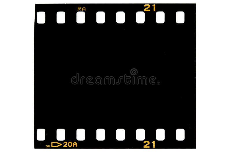 Film frame, black royalty free stock photos