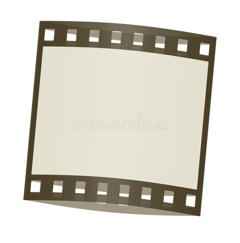 Download Film frame shadowed stock illustration. Image of generated - 4516132