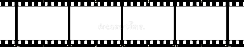 Film Frame (x4_2) royalty free illustration
