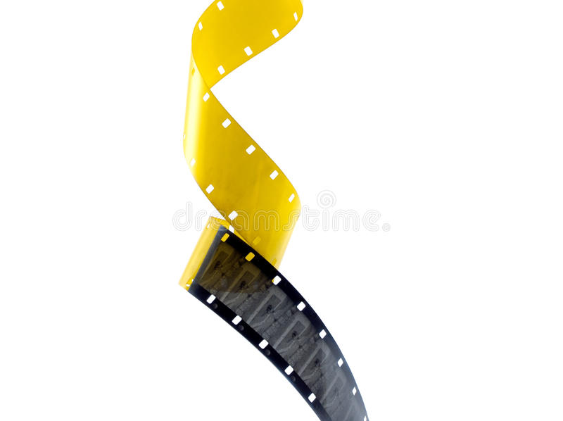 Download Film frames stock photo. Image of yellow, film, leader - 13700162