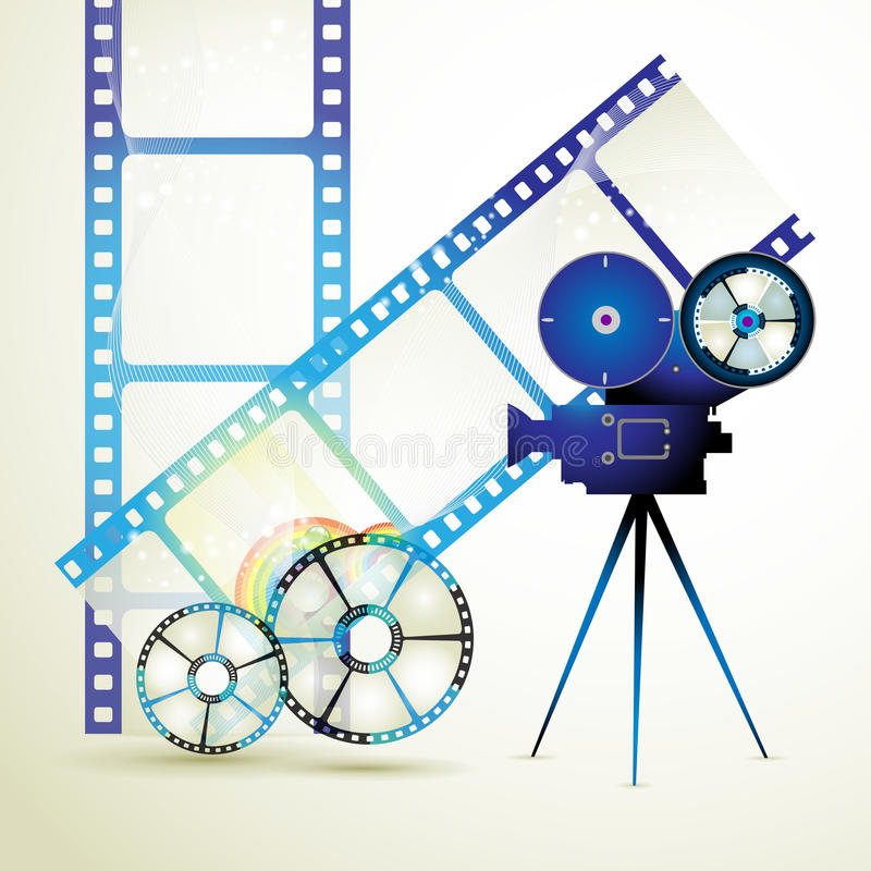 Film frames stock illustration