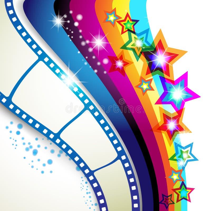 Film frames royalty free illustration