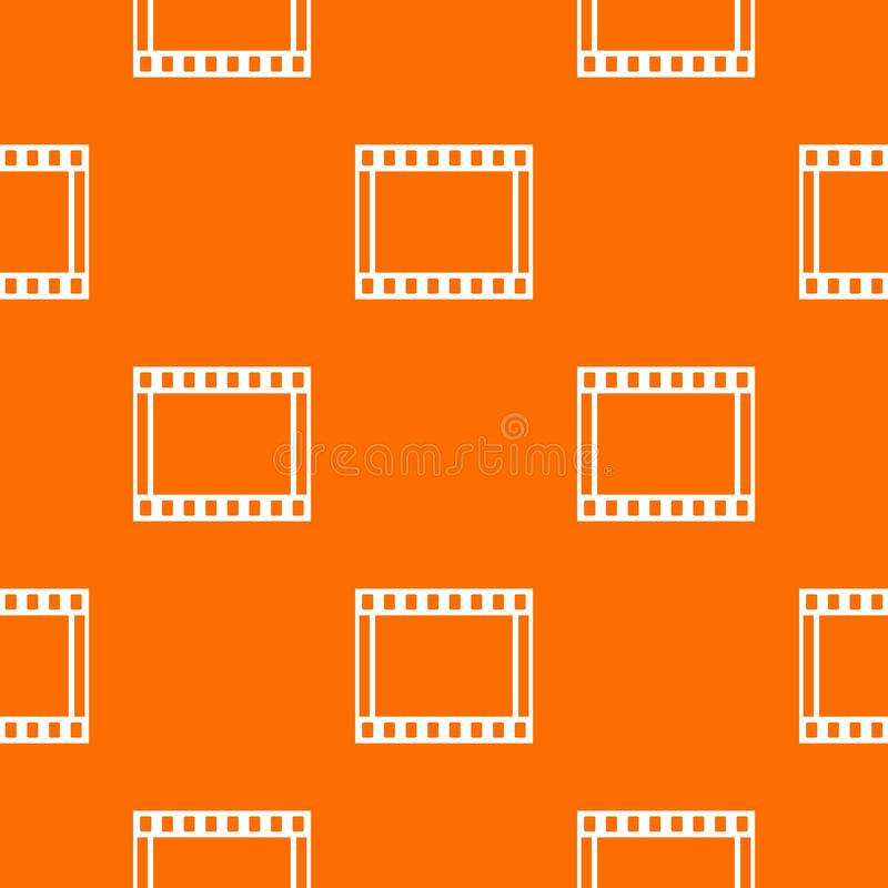 Film With Frames Movie Pattern Seamless Stock Vector - Illustration ...