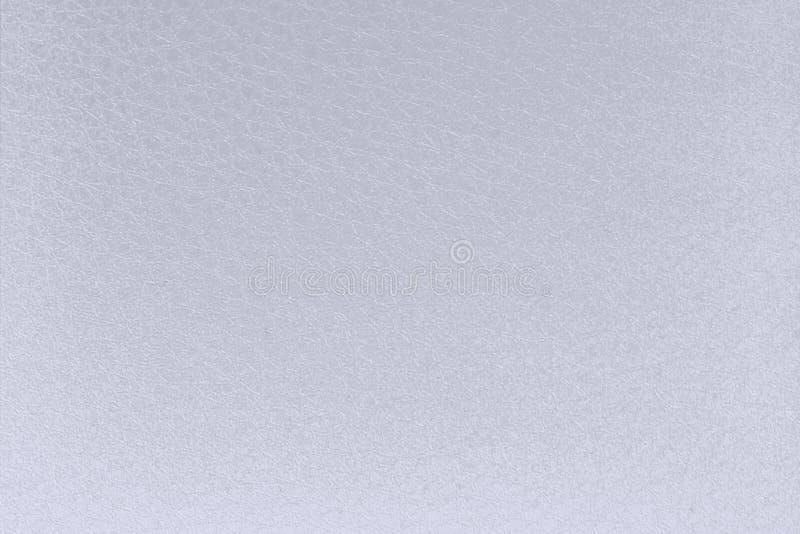 Film freddo della laminazione nella struttura del cuoio bianco utile come backgrou immagini stock libere da diritti