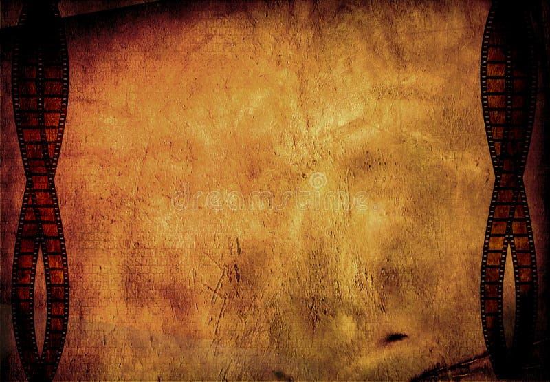 Film grunge illustration de vecteur