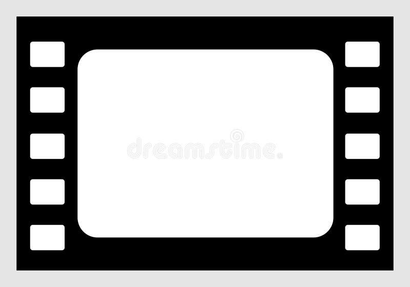 Download Film-Ikone vektor abbildung. Illustration von rand, leer - 34470