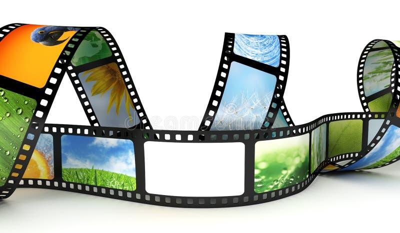 Download Film with images stock illustration. Illustration of 35mm - 25018685