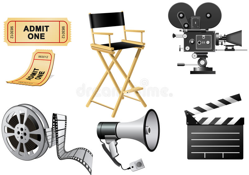 Download Film Industry stock vector. Image of negative, ticket - 13199636