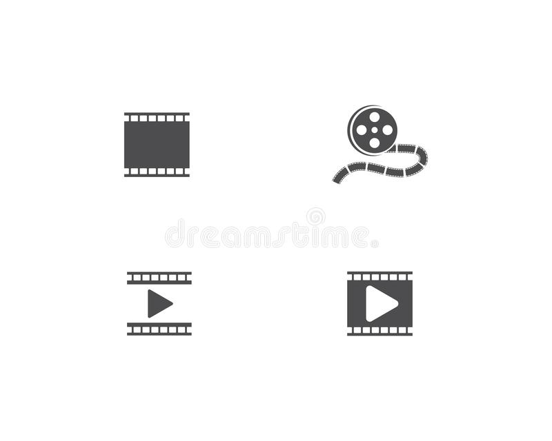 Film Logo Template illustration libre de droits