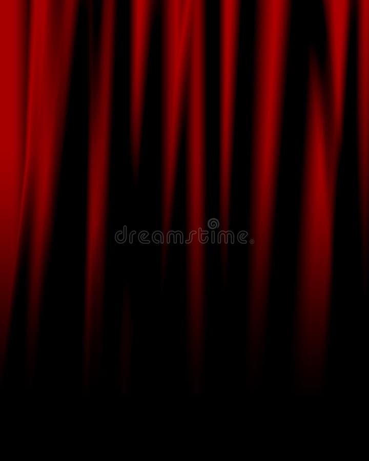 Film lub teatr drapujemy ilustracji