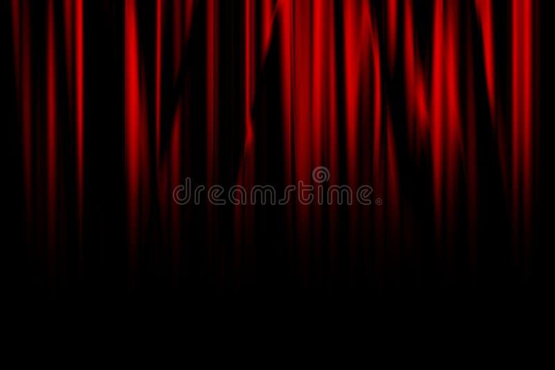 Film lub teatr zasłona ilustracji