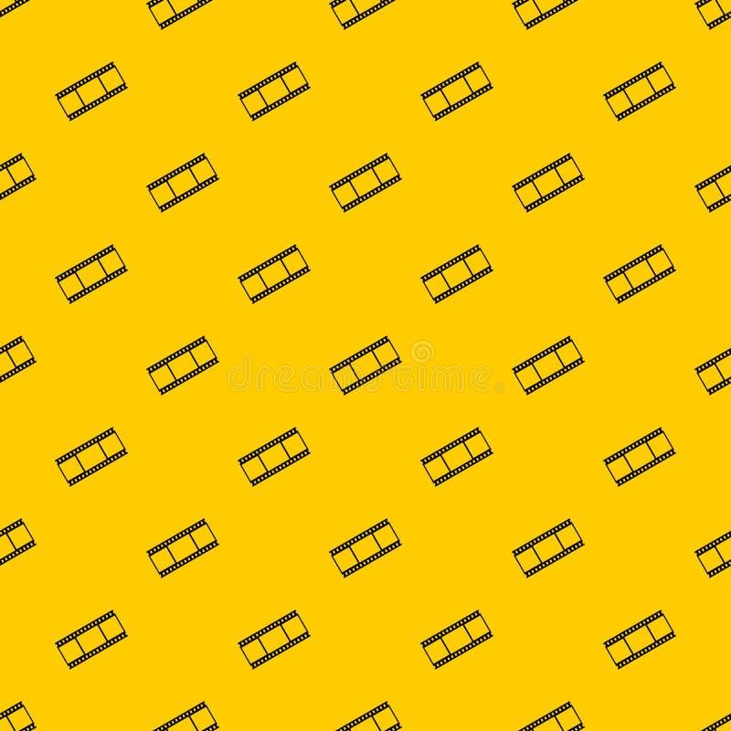 Film met de vector van het kaderspatroon royalty-vrije illustratie