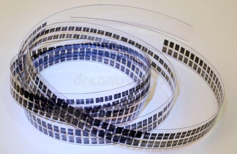 Film micro image stock