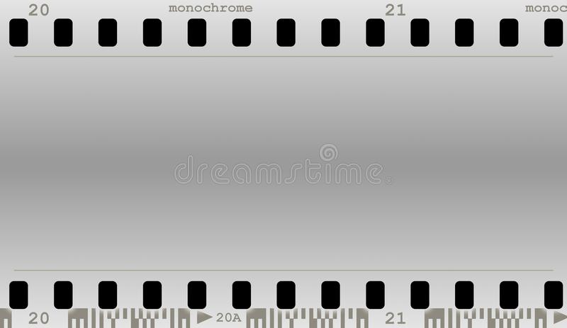 Film(monocrome) royalty free illustration