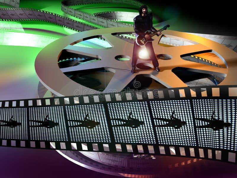 Film musical illustration libre de droits