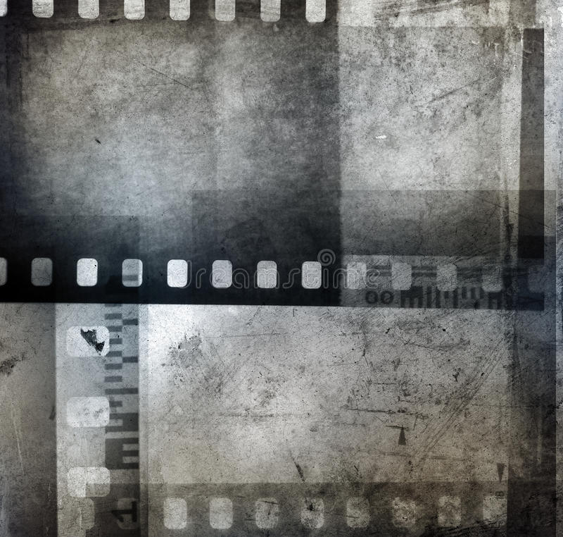 Film negatives stock illustration