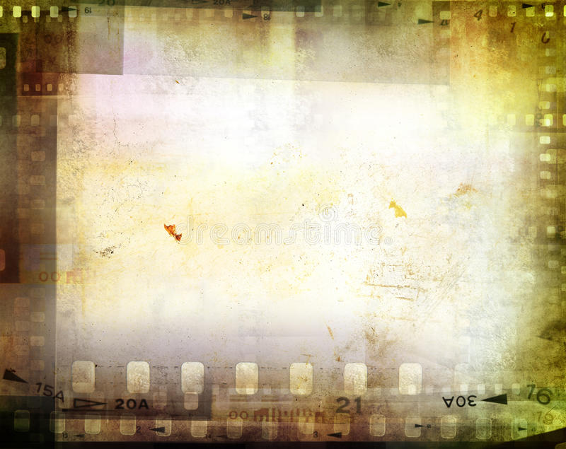 Film negatives stock illustration
