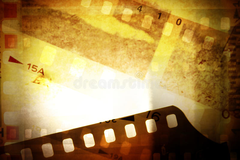 Film negatives royalty free illustration
