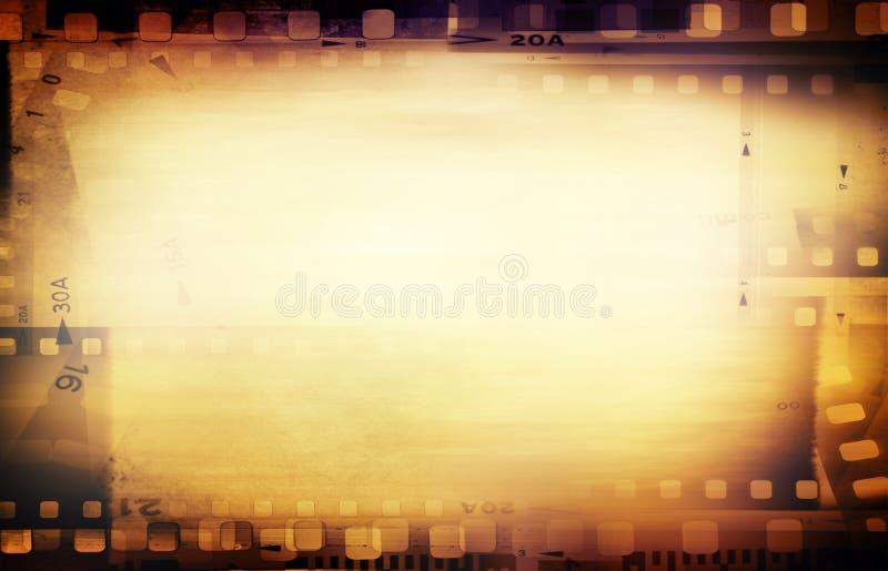 Film negatives royalty free illustration