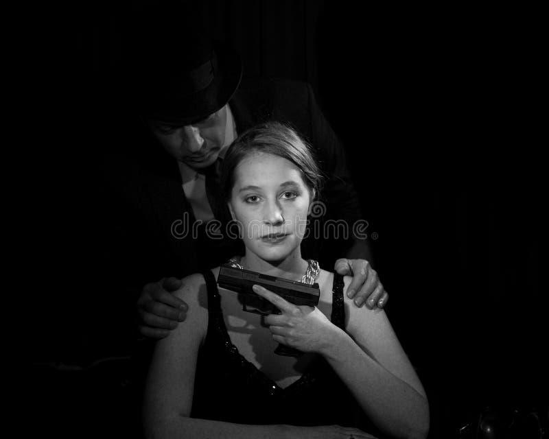 Film noir royalty-vrije stock foto