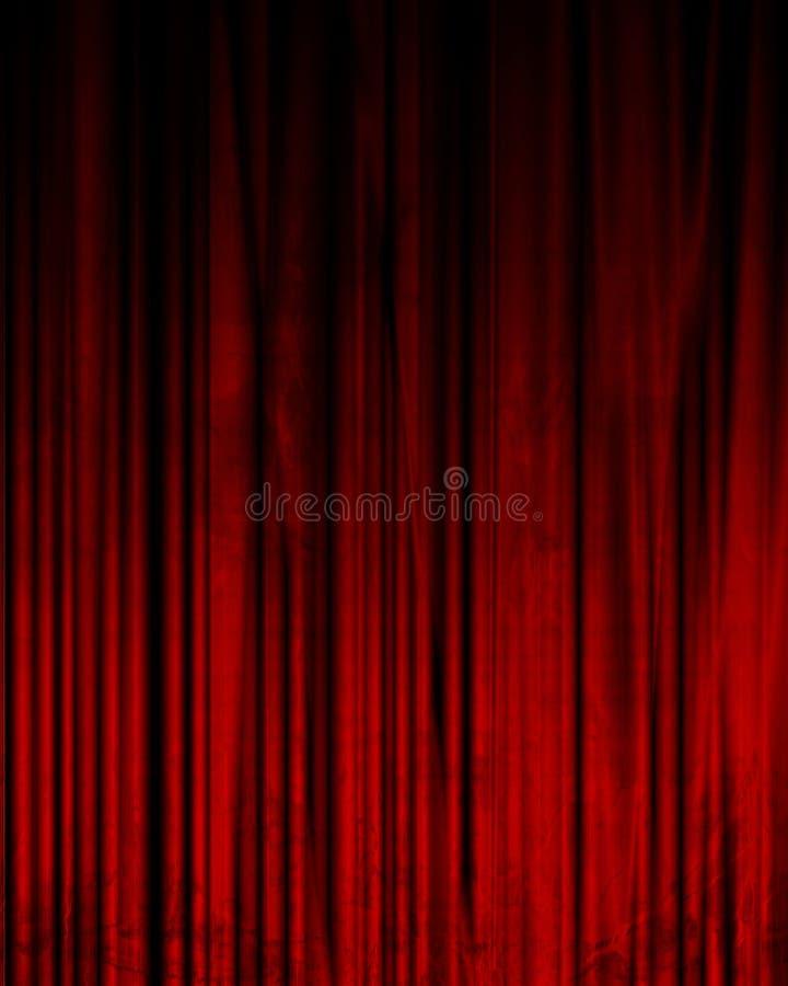 Film o tenda del teatro royalty illustrazione gratis
