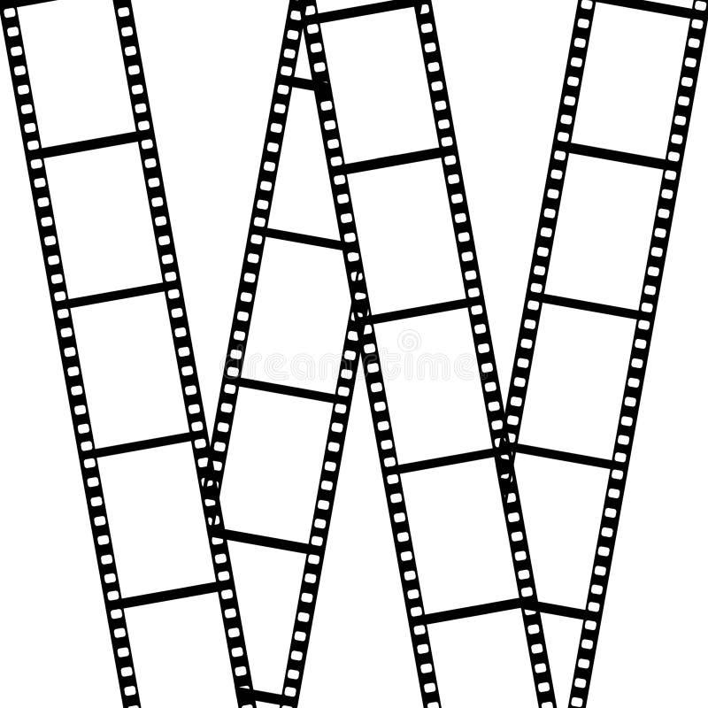 film odizolowywający nad biel zdjęcia royalty free