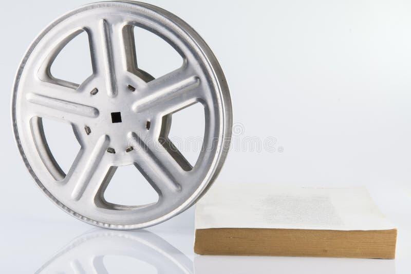 film odizolowywający rolki biel fotografia royalty free