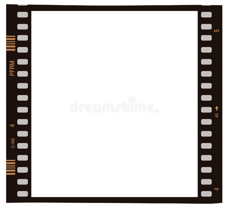 Download Film photo frame stock illustration. Image of black, film - 4091434