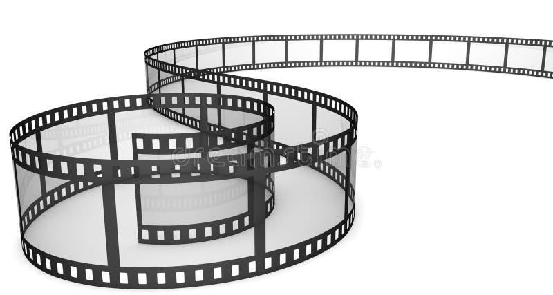film photographique illustration de vecteur