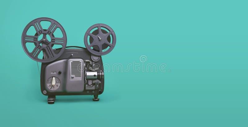 Film, projecteur de film photo stock