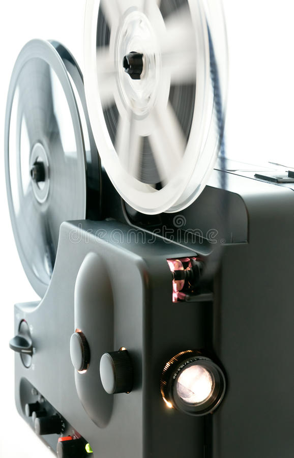 Download Film projector stock image. Image of antique, screen - 19275269