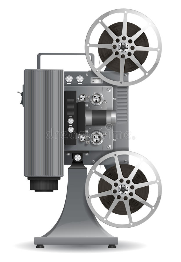 Free Film Projector Stock Photo - 33377630