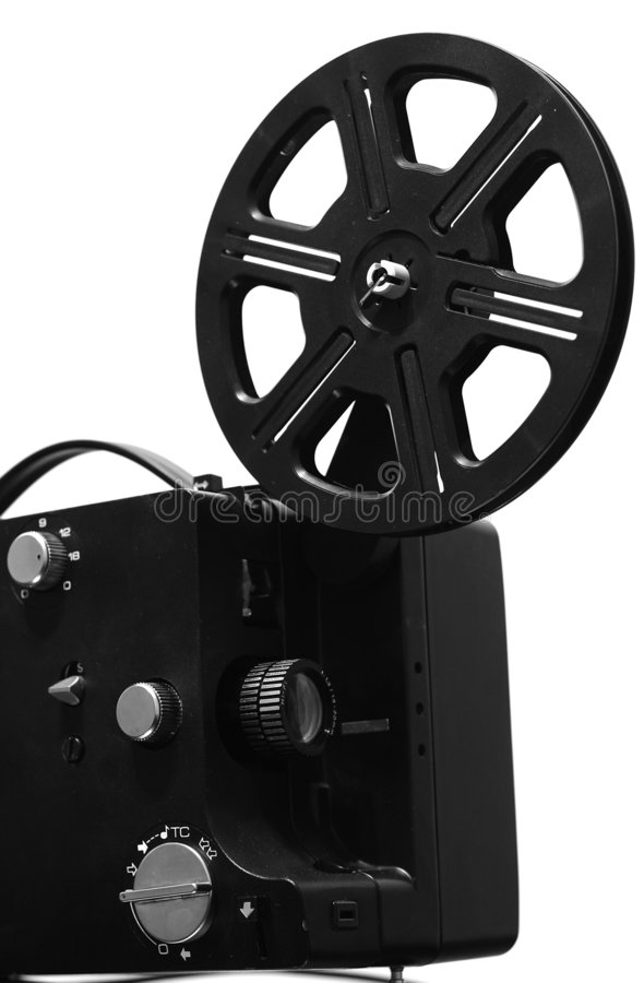 Film projector stock photos