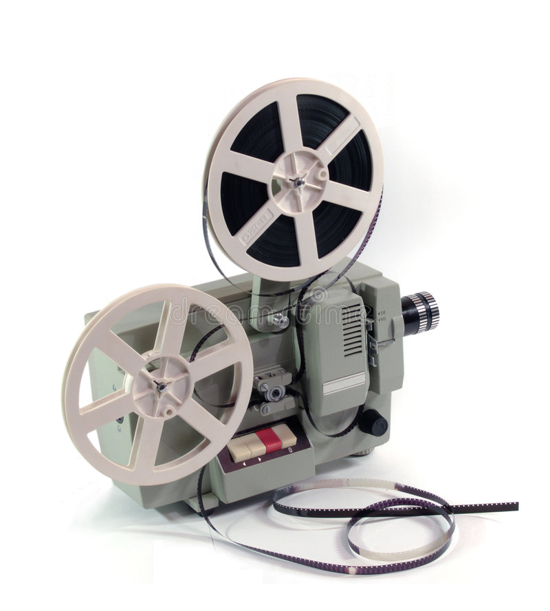 Film projector royalty free stock photo