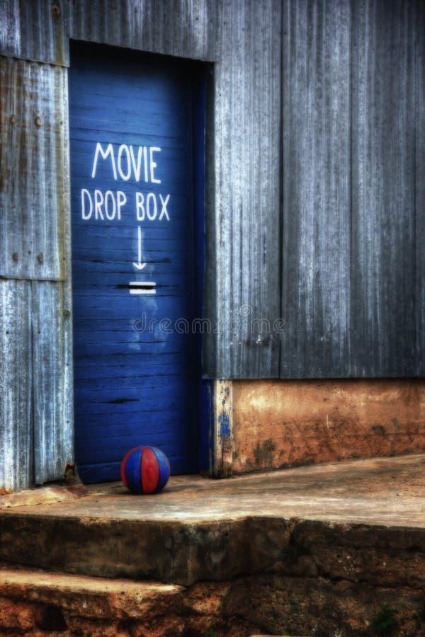 Film-Rückkehr lizenzfreies stockbild
