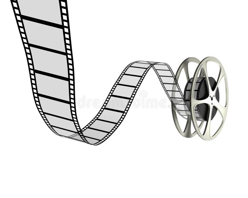 Download Film Reel stock illustration. Image of computer, entertainment - 10619622