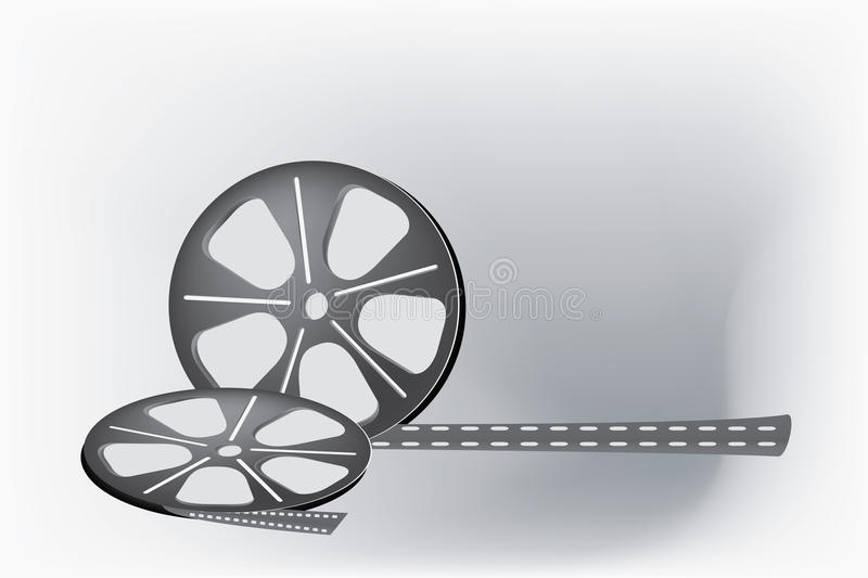Film reel royalty free illustration
