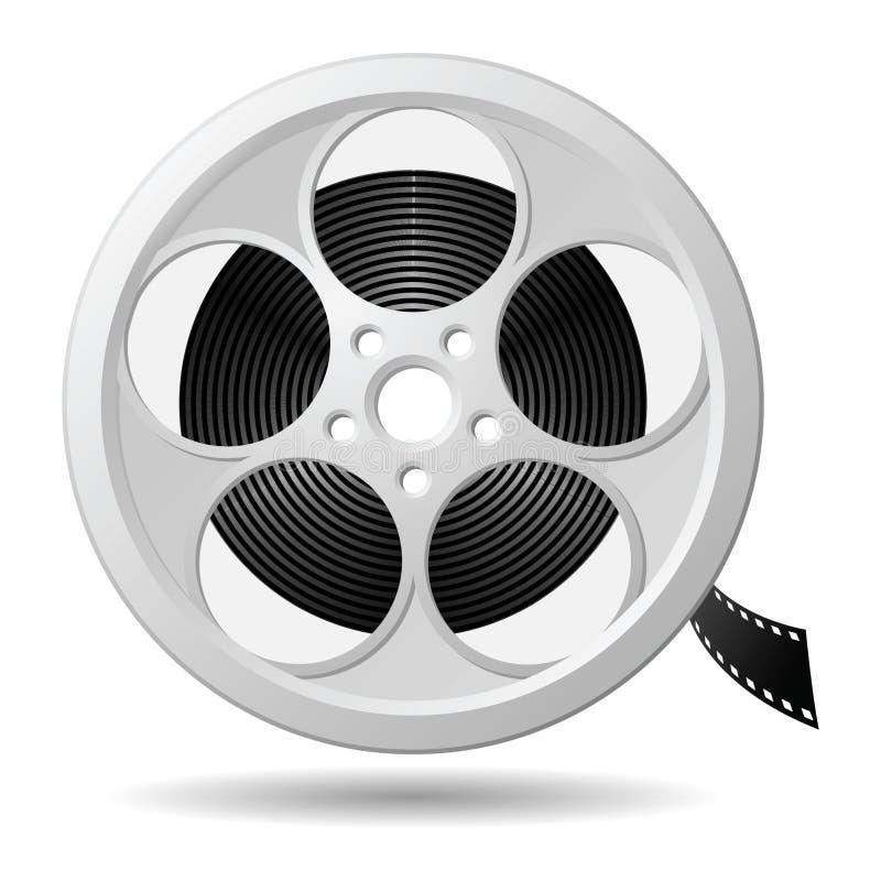 Film reel. Eps version 8 vector illustration