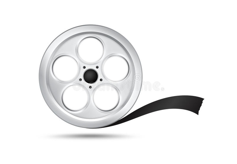 Download Film Reel stock vector. Image of optical, cinema, copy - 26046710